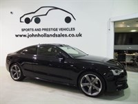 Used Audi A5 TDI QUATTRO S LINE BLACK EDITION S/S B&O Latest Facelift Shape