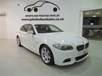 Used BMW 535d M SPORT Pro Media Sat Nav 1 Owner
