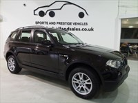 Used BMW X3 D SE Bluetooth Full Leather FSH Stunning Family 4x4