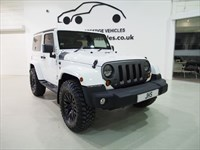 Used Jeep Wrangler V6 Sahara Chelsea Truck Kahn Design Btooth Red Leather Stunning Conversion