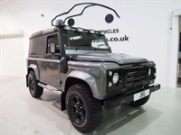 Used Land Rover Defender  90 County Hard True Top One Off Stunning Gloss Black Alloys and more