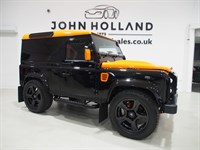 Used Land Rover Defender 90 TD HARD TOP XS GT Edition 1 Off Bespoke Build Porsche GT Orange