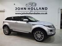 "Used Land Rover Range Rover Evoque SD4 PRESTIGE 19"" Alloys Sat Nav Btooth Rev Camera"