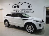 Used Land Rover Range Rover Evoque SD4 DYNAMIC LUX Panoramic Roof Rear Entertainment Huge Spec