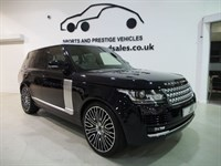 "Used Land Rover Range Rover SDV8 VOGUE Massive Spec 23"" Overfinch Alloys, Rear Entertainment  Pan Roof"