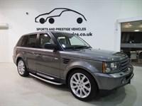 """Used Land Rover Range Rover Sport TDV6 SPORT HSE 20"""" Alloys Sat Nav Btooth Beautiful Example FLRSH"""