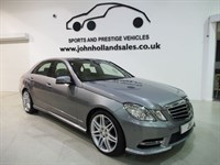 "Used Mercedes E250 CDI BLUEEFFICIENCY SPORT 19"" AMG Alloys Panoramic Roof Sat Nav 1 Owner"
