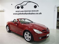 "Used Mercedes SLK200 Upgrade 17"" Alloys Full Leather Stunning Colour Combo Perfect MB History"