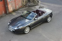 Used Aston Martin DB9 2dr WITH IRON ORE RED LTHR+