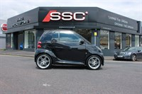Used Smart Car Fortwo Turbo Brabus Xclusive Softouch 2dr