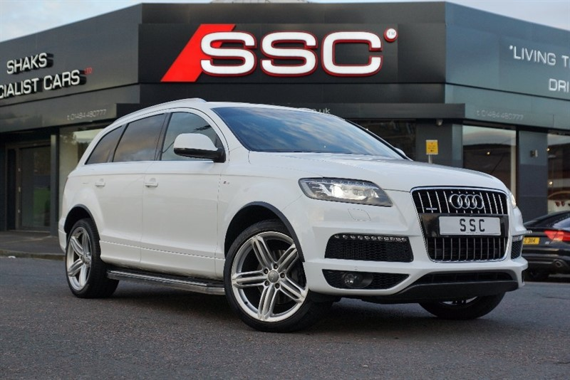 Car of the week - Audi Q7 TDI S Line Tiptronic Quattro 5dr - Only £23,995