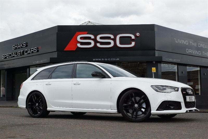 Car of the week - Audi RS6 Avant TFSI Tiptronic Quattro 5dr - Only £54,995