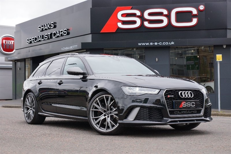 Car of the week - Audi RS6 Avant Performance Avant Tiptronic Quattro 5dr - Only £84,995