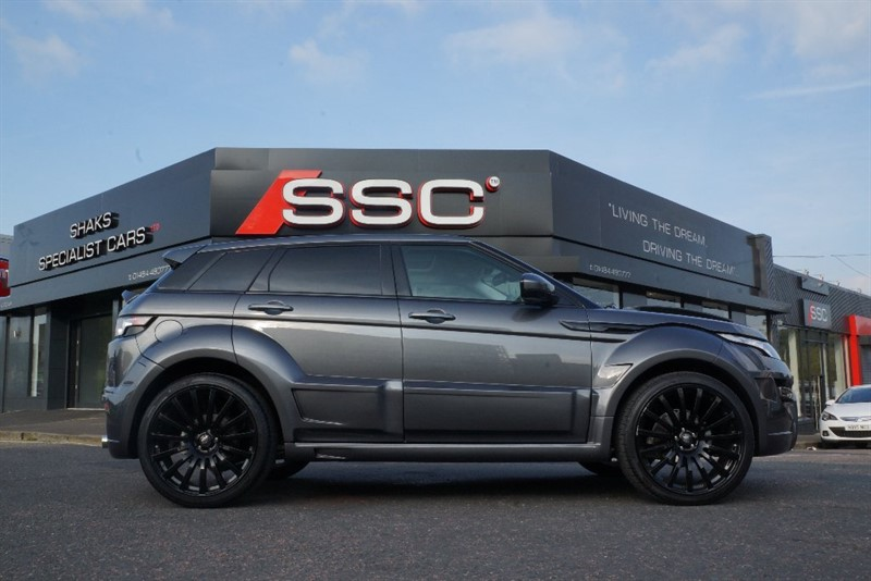Car of the week - Land Rover Range Rover Evoque SD4 Prestige 4WD 5dr - Only £59,995