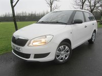 Skoda Fabia 12V S 5dr Skoda warranty until June 2015