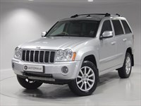 Used Jeep Grand Cherokee CRD Overland 5dr Auto SAT NAV, SUNROOF