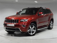 Used Jeep Grand Cherokee CRD Overland Station Wagon 4x4 5dr