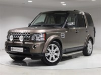 Used Land Rover Discovery SDV6 Panel Van 4WD EXC 2 TONE LEATHER, VAT QUAL