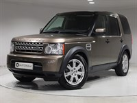 Used Land Rover Discovery SDV6 Panel Van 4WD LEATHER, SAT NAV, LUX PACK