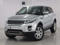 Used Land Rover Range Rover Evoque SD4 Pure 5dr [Tech Pack] SAT NAV, BODYKIT