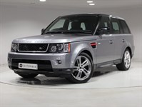 Used Land Rover Range Rover Sport 3.0TD HSE 5dr 4WD RED & LIMITED EDITION