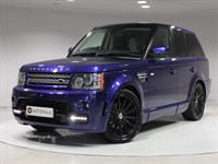 Used Land Rover Range Rover Sport TD HSE 5dr 4WD OVERFINCH GTS, BLK PIANO WOOD