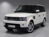 Used Land Rover Range Rover Sport TDV6 HSE 5dr CommandShift (NEW MODEL) SAT NAV