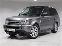 Used Land Rover Range Rover Sport TDV6 HSE 5dr Auto (HST SPEC) GREY+BLACK