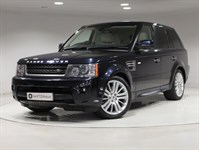 Used Land Rover Range Rover Sport TD HSE 5dr 4WD (NEW MODEL) REAR DVD, SAT NAV
