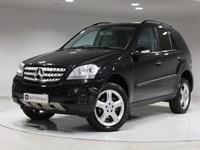 Used Mercedes ML320 M CLASS CDI Sport 5dr Tip Auto SAT NAV, 19 ALLOYS