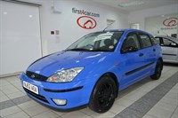 Used Ford Focus Zetec 5dr LIMITED EDITION BLUE COLOUR