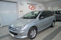 Used Peugeot 206 Verve 5dr GREAT VALUE ESTATE