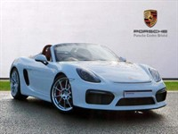 Used Porsche Boxster SPYDER