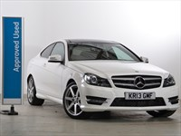 Used Mercedes C220 CDI BlueEFFICIENCY Coup? AMG Sport