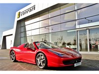 Used Ferrari 458 Spider VAT Qualifying