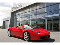Used Ferrari 458 Spider One Owner