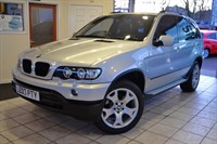 Used BMW X5 SPORT  3.0 24V WITH FULL BLACK LEATHER