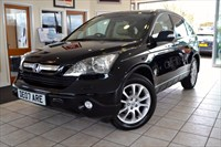 Used Honda CR-V I-VTEC EX COLOUR NAVIGATION AND FULL LEATHER