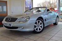 Used Mercedes SL500  SL500 WITH PANORAMIC ROOF