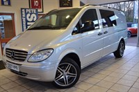 Used Mercedes Vito 111 CDI LONG  WITH FULL LEATHER AND NO VAT TO PAY