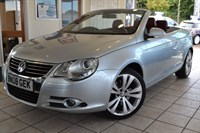 Used VW Eos SPORT TDI WITH FULL RED LEATHER