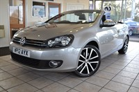 Used VW Golf GT TDI CONVERTIBLE BLUEMOTION TECHNOLOGY