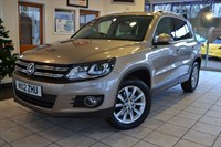 Used VW Tiguan SE TDI 4MOTION 4X4 NAVIGATION LEATHER GLASS ROOF