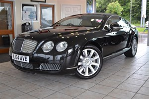 Car of the week - Bentley Continental GT FULL BENTLEY SERVICE HISTORY ONLY 51000 MILES - Only £29,995