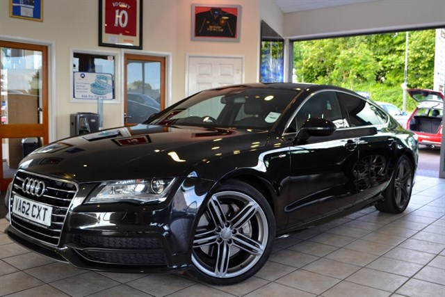 used Audi A7 TDI QUATTRO S LINE VERY HIGH SPECIFICATION in forest-of-dean-gloucestershire