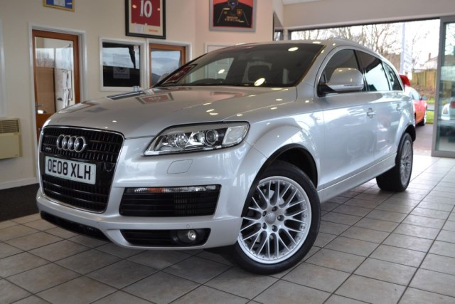 used Audi Q7 4.2 TDI QUATTRO S LINE in forest-of-dean-gloucestershire