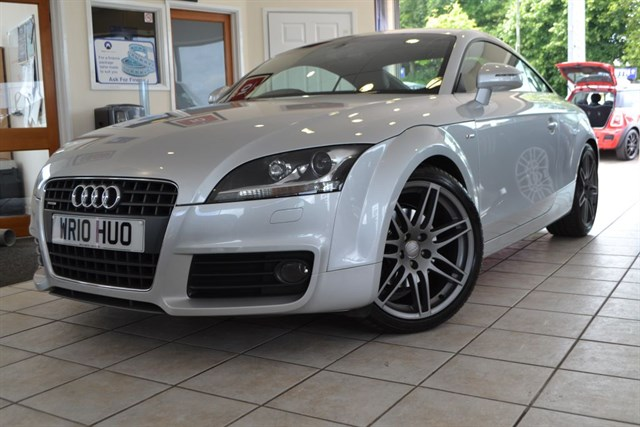 used Audi TT TDI QUATTRO S LINE SPECIAL EDITION ONE OWNER  in forest-of-dean-gloucestershire