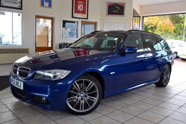 used BMW 320d  SPORT PLUS TOURING WITH FULL LEATHER ONE OWNER in forest-of-dean-gloucestershire