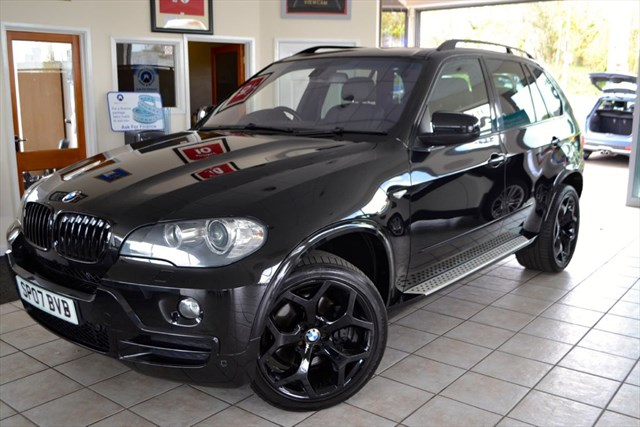 "used BMW X5 D SE SPORTS BODY STYLING INCLUDING 20 ""HIGH GLOSS BLACK ALLOYS in forest-of-dean-gloucestershire"