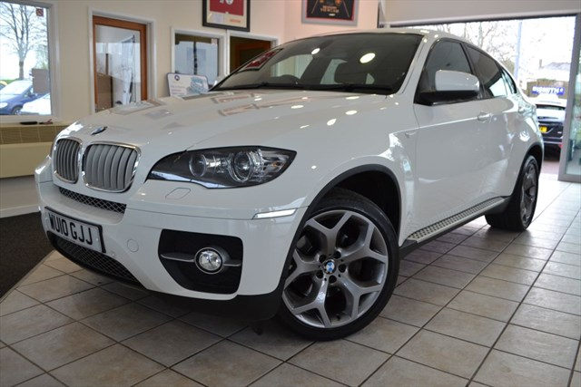 used BMW X6 X-DRIVE 35D VERY HIGH SPEC IN ALPINE WHITE in forest-of-dean-gloucestershire